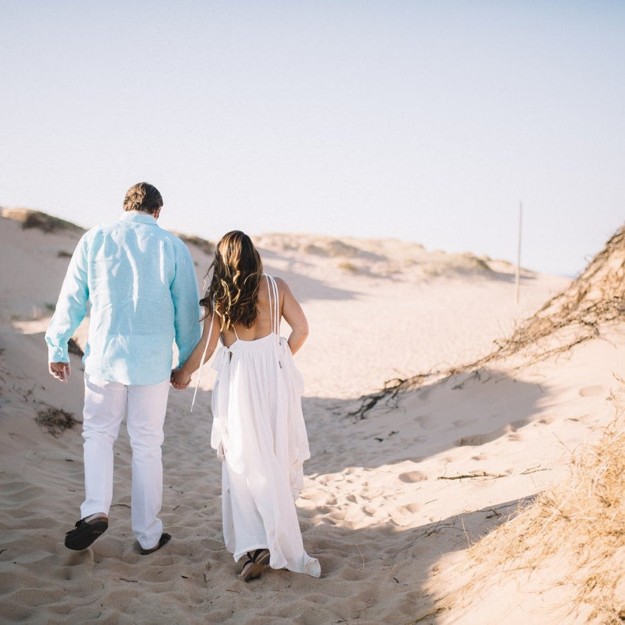 Sleeping Bear Dunes Engagement Session | Katie + Matt