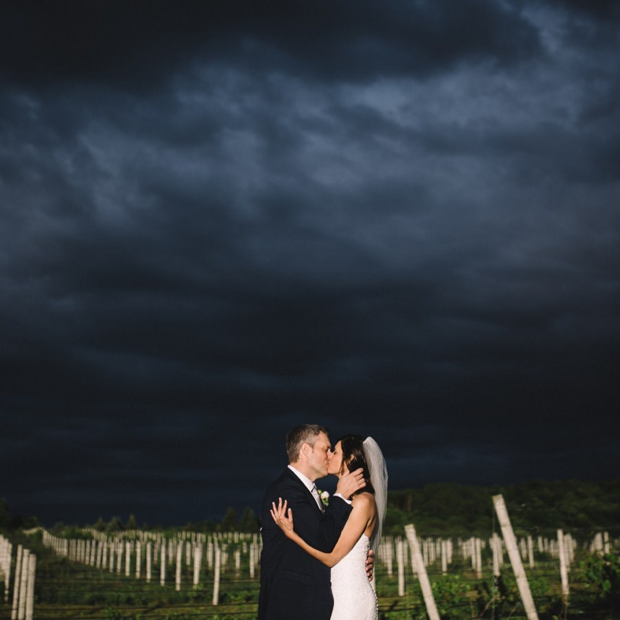 45 North Vineyard & Winery Wedding | Jamie + Bill | By Luke