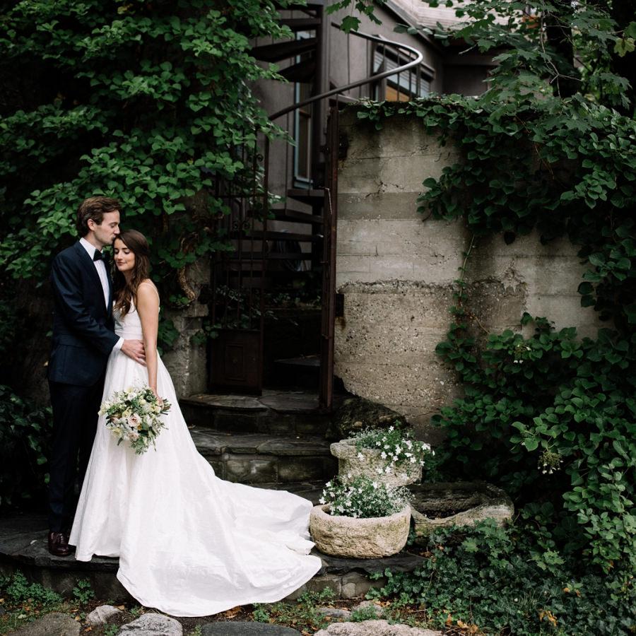 Harbor Springs Backyard Wedding | Katie + Teddy