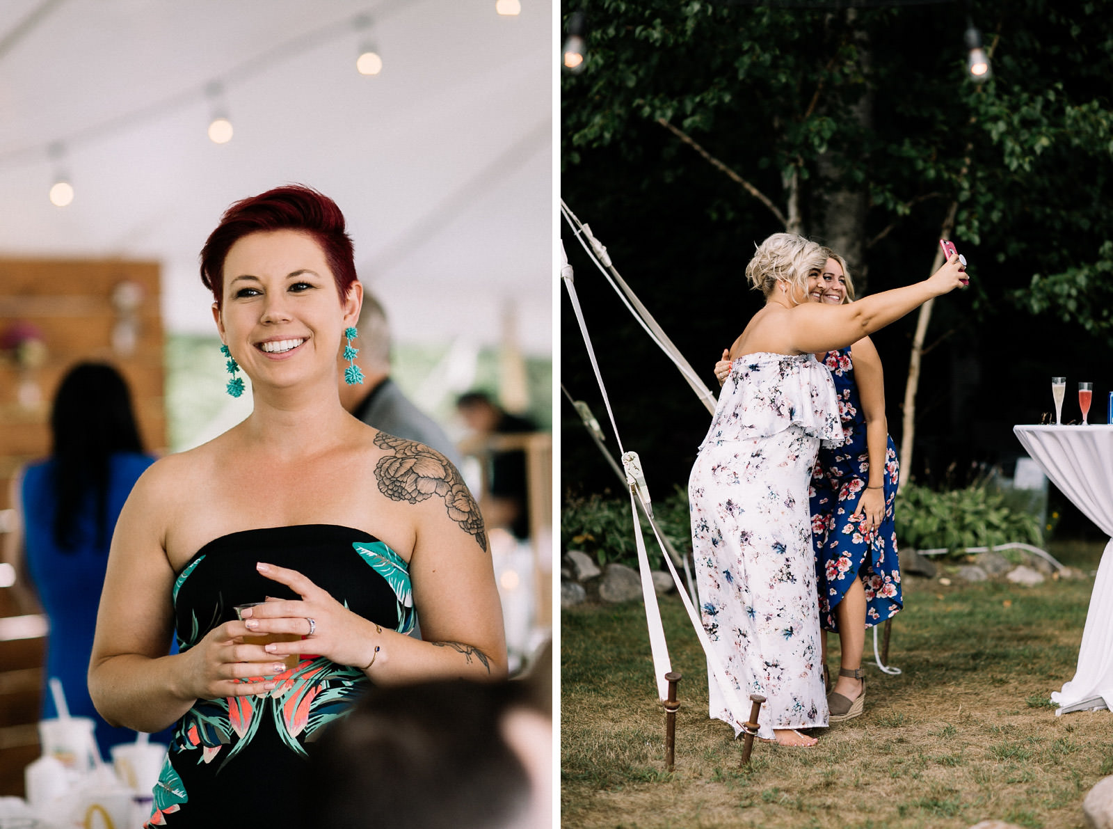backyard bellaire wedding jess joe by anna dan