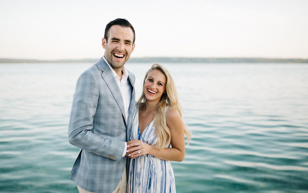 Glen Lake Proposal | Christy + Max | By Luke