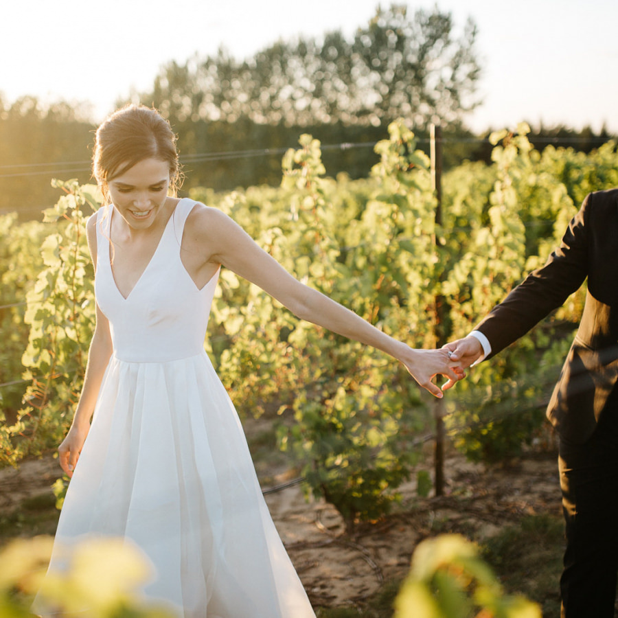 The Ridge at Verterra Wedding | Josie + Garett | By Anna