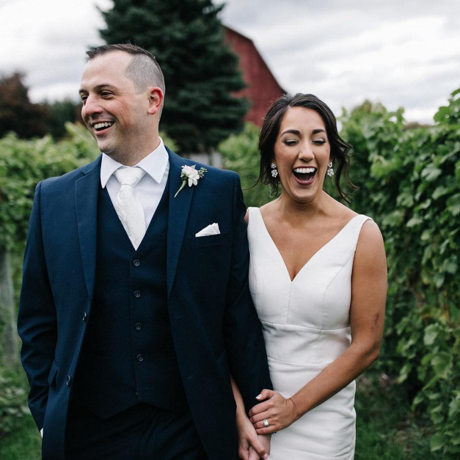 Ciccone Vineyard + Winery Wedding | Jenna + Joe