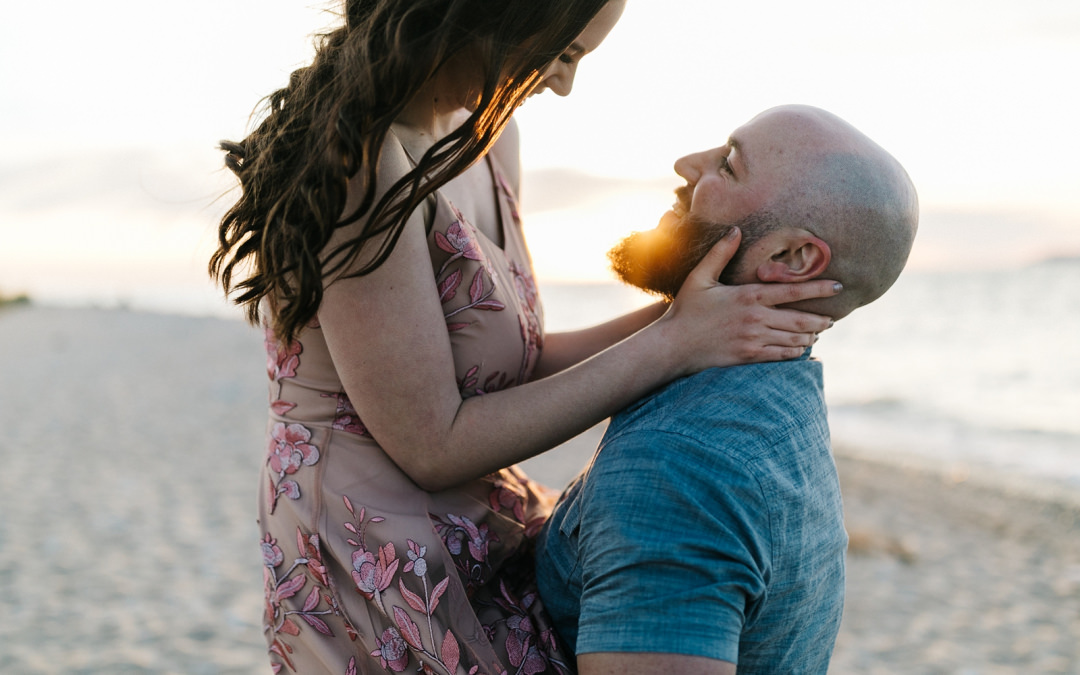 Picnic in the Dunes Engagement | Jordan + Kyle