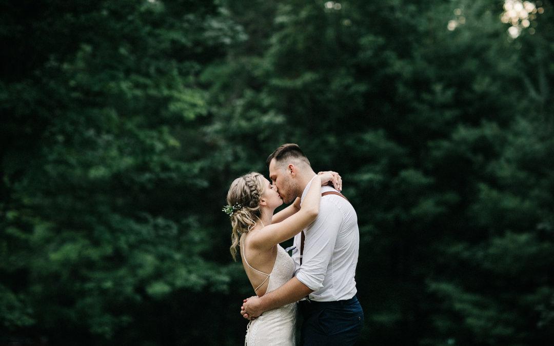 Family Home Wedding | Jenna + Brandon | By Luke