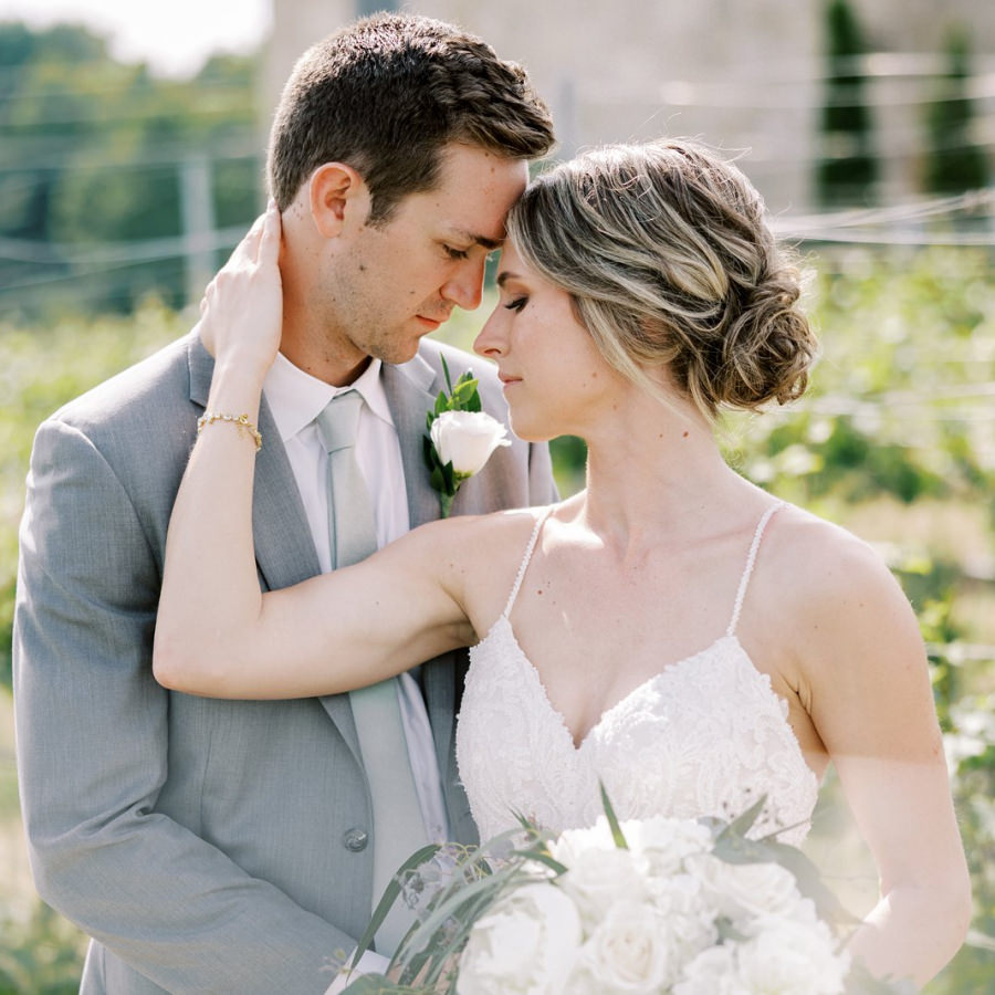 Mari Vineyards Wedding | Callie + Stephen