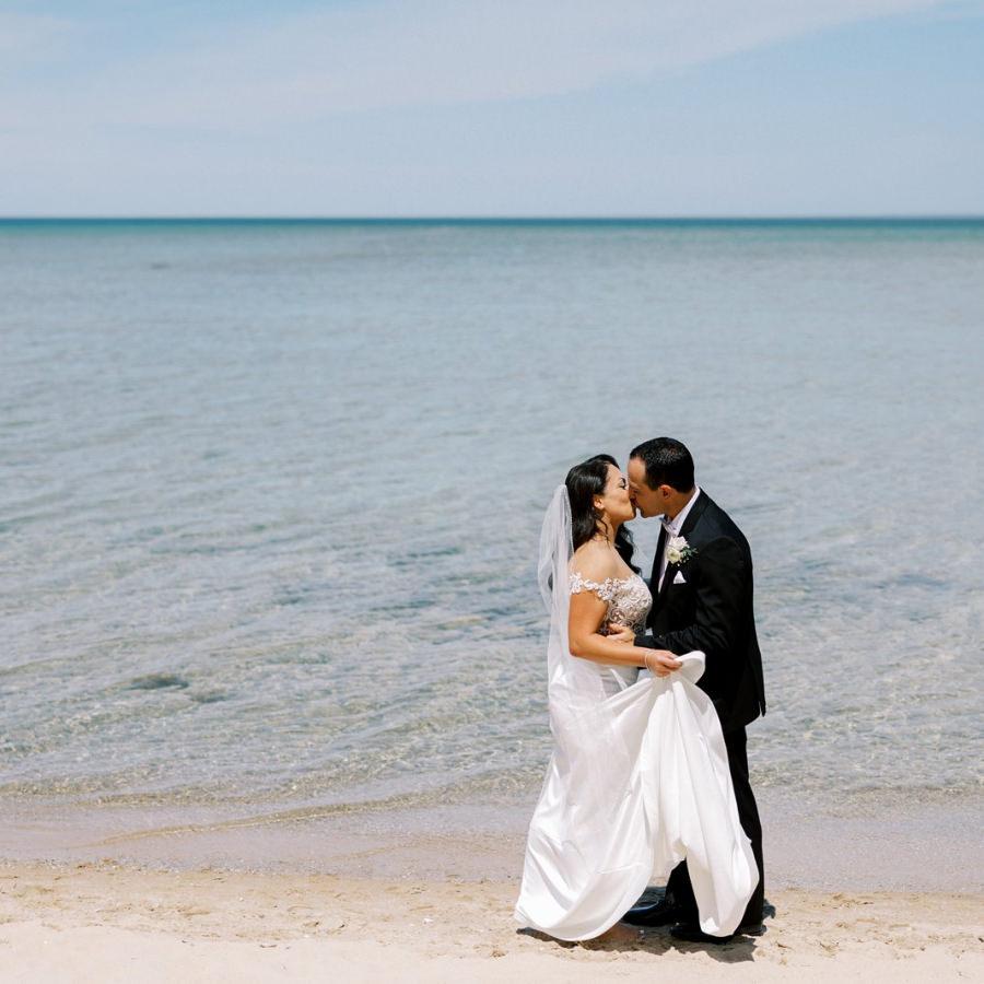 Chateau Chantal Winery Wedding | Christine + Josh